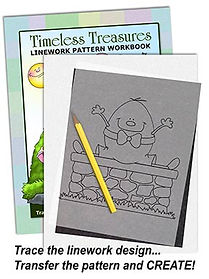 Timeless Treasures Linework Pattern Sample Page