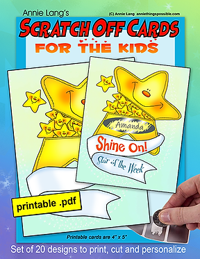 Scratch Off Cards: For the Kids