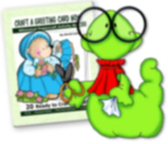 Get Annie Lang's Craft Books in Paperback and downloadable .pdf editions!