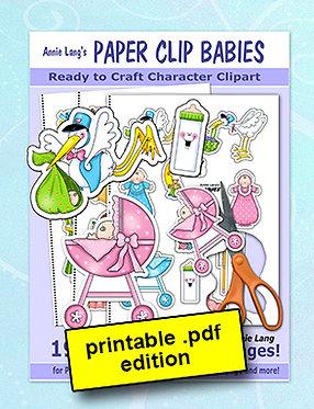 Annie Lang's Paper Clip Babies