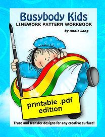 Busybody Kids Linework Pattern Book PDF