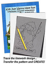 Annie Lang's Line Art Coloring Pattern Books