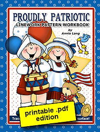 Proudly Patriotic Linework Pattern Book PDF