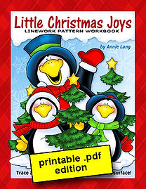 Little Christmas Joys Linework Pattern Book PDF
