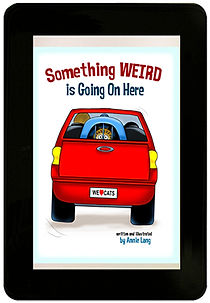 Annie Lang's Something Weird is Going On book available from the KINDLE STORE