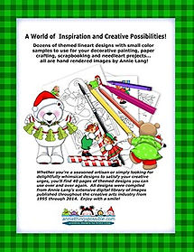 Annie Lang's Snow Bears and Moppets Pattern Book