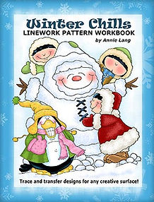 Annie Lang's Winter Chills Linework Pattern Book
