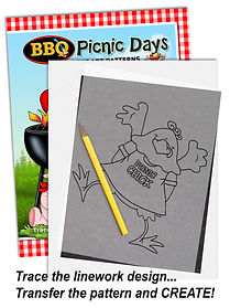 Annie Lang's BBQ Picnic Days Patterns