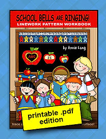 School Bells are Ringing Linework Pattern Book PDF