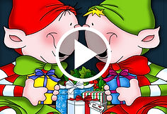 A Little Elf from Another Shelf book trailer by Annie Lang