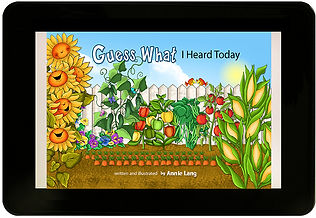 Guess What I Heard Today Childrens book written and illustrated by Annie Lang available in easy to read Kindle Kids E-Book edition.