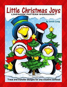 Annie Lang's Little Christmas Joys Linework Pattern Book