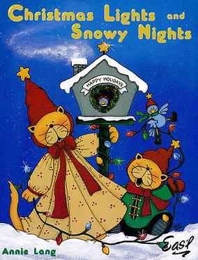 Christmas Lights and Snowy Nights