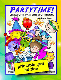 Partytime! Linework Pattern Book PDF
