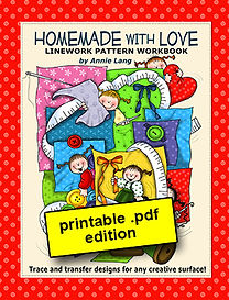 Homemade With Love Linework Pattern Book PDF
