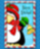 Holiday Bell Penguin