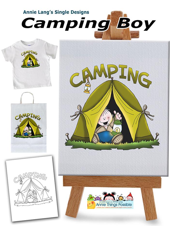 Camping Boy Singles
