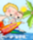 Birthday Splash Surfers