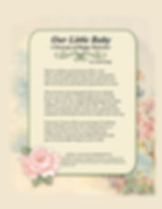 """Annie Lang's """"Our Little Baby"""" A Treasury of Happy Memories Book available in Paperback and .PDF formats"""