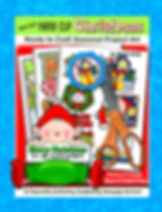 Annie Lang's Paper Clip Christmas ready to craft seasonal project art project book