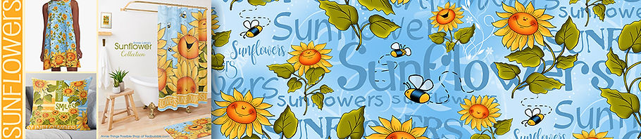 Sunflowers Collection Header