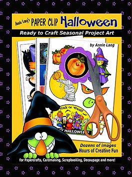 Annie Lang's Paper Clip Halloween ready to craft seasonal project art project book