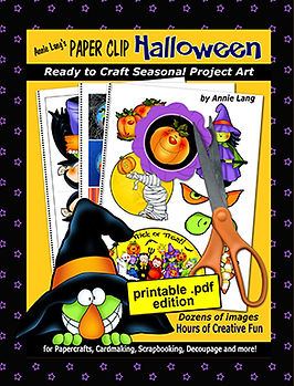 Annie Lang's Paper Clip Halloween ready to craft seasonal project art project book .pdf edition
