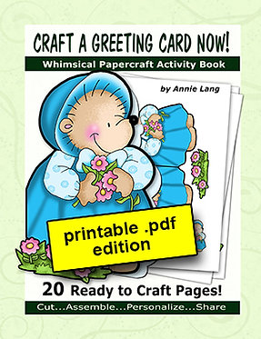 Craft a Greeting Card Now Activity Book