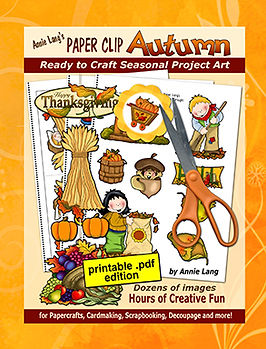 Annie Lang's Paper Clip Autumn ready to craft seasonal project art project book .pdf edition