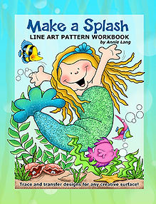 Annie Lang's Make a Splash Book Cover