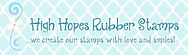 Find Annie Lang's licensed designs at High Hopes Rubber Stamps