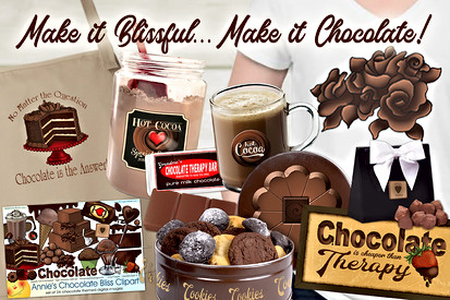 Chocolate Bliss Clpart