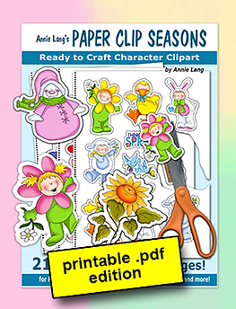 Annie Lang's Paper Clip Seasons Papercraft Activity Book PDF