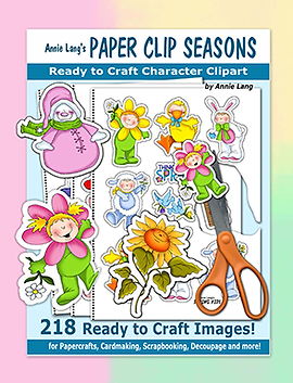 Annie Lang's Paper Clip Seasons Book