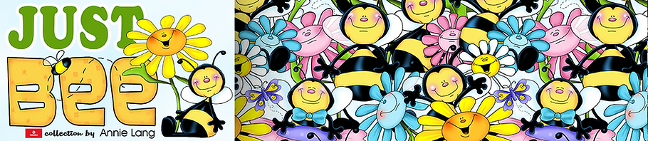 Shop for Annie Lang's Just Bee Happy merchandise collection