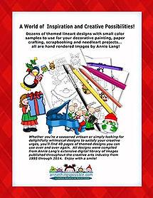 Annie Lang's Little Christmas Joys Linework Pattern Book