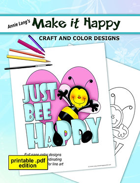 Make It Happy Craft and Color Designs