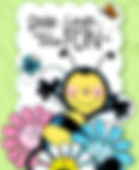 Happy as can Bee Card