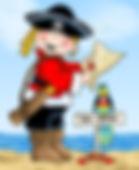 Pirate Birthday Boy