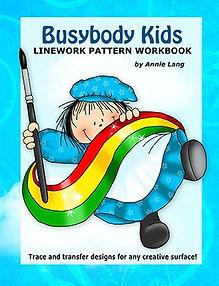 Busybody Kids Linework Pattern Book
