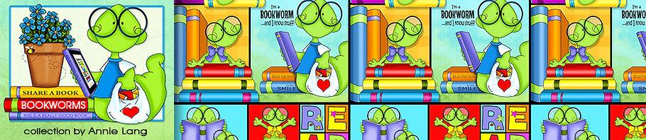 Bookworms Collection Header