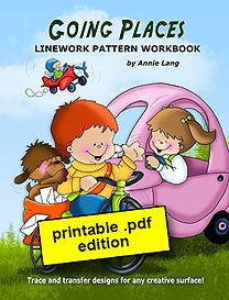 Going Places Linework Pattern Book PDF