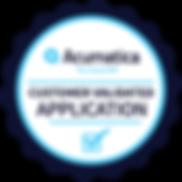 Acumatica_CustomerValidated_App_Badge.pn