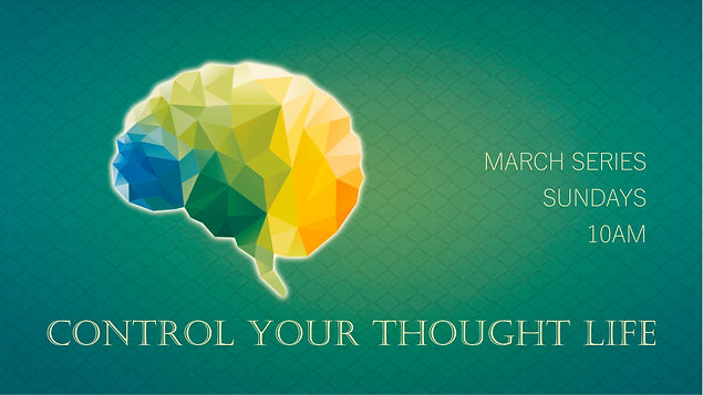 Control Your Thought Life Facebook Cover