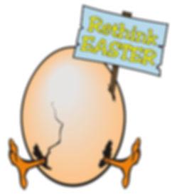 rethink easter hatching egg