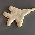 Fighter Jet Cookies