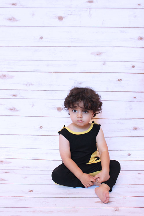 *Limited Edition* Bumble Bee Snap Onesie-Kids