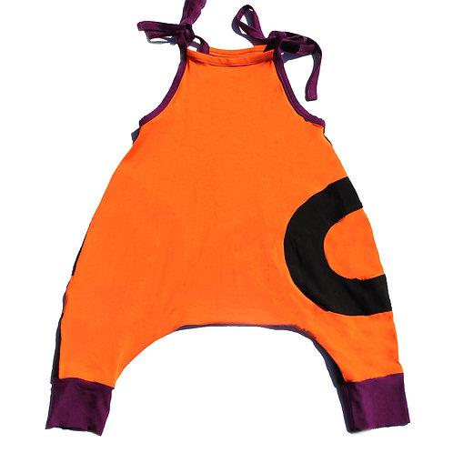 Halloween Racerback Onesie-Kids