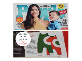 Mdm in the December issue of People Espanol!!