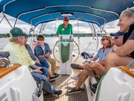 Sail Beyond Cancer Featured in Chesapeake Bay Magazine!